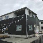 ☆洗練されたデザイン♪外壁には耐水性・耐天候性に優れたサイディング外壁を使用しています☆(外観)