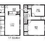 熊本市東区新外1丁目 2階建 4SLDK