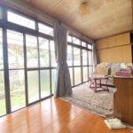【洋室】☆幅の広い縁側は、風通しも良く窓を開けると心地よい風が入ります♪☆(内装)