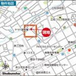 シュロアモール長嶺近く(地図)