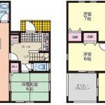 熊本市東区花立 2階建 新築戸建 4LDK